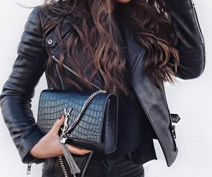 bag, street style, and Yves Saint Laurent image