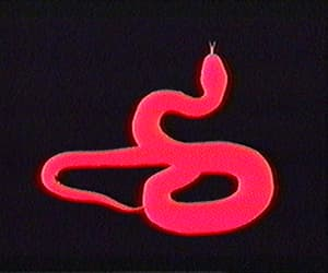 gif, red, and snake image