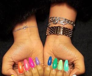 nail art and 🌈 image