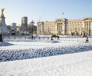 Buckingham palace, london, and beast from the east image