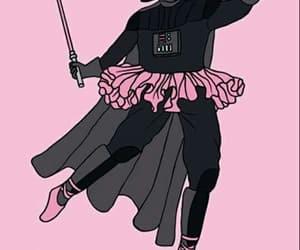 pink, wallpaper, and star wars image