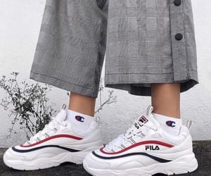 Fila, lookbook, and outfit image