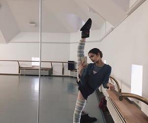 ballerina, flexibility, and pointe image