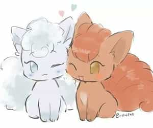 normal, vulpix, and P image