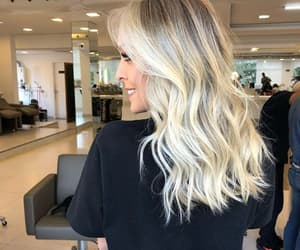blonde, hair, and br image