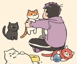 neko atsume, matsuno, and ichimatsu matsuno image