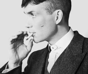 actor, boy, and cigarrete image