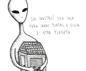 alien, cool, and pensamiento image