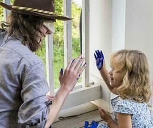 twd, thewalkingdead, and carl grimes image