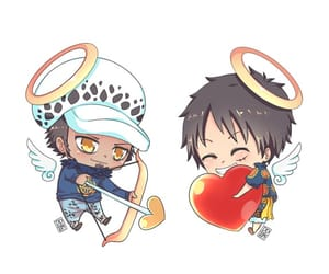 one piece, monkey d luffy, and lawlu image