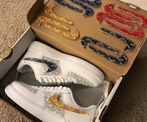 air force, fashion, and shoe image
