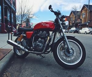 motorbike, motorcycle, and caferacer image