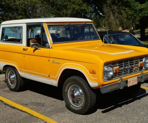 old cars, ford bronco, and old ford bronco image