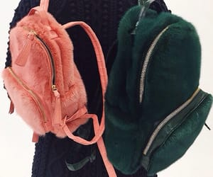 aesthetic, backpack, and softie image