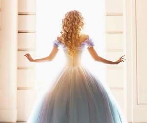 cinderella, princess, and dress image