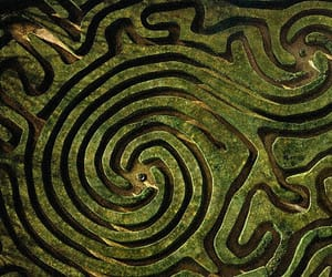 green and maze image