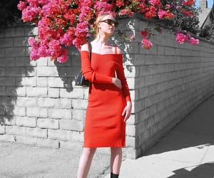 celine, chanel, and red sweater dress image