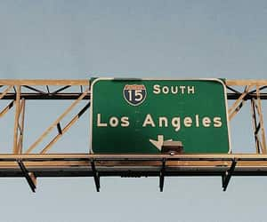 california, los angeles, and travel image