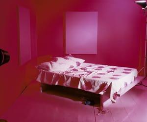 bed, decor, and minimalism image