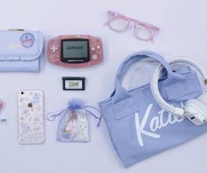 aesthetic, fashion, and gameboy image