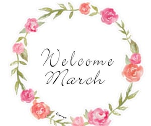 flowers, march, and pretty image