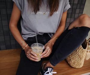 black, casual, and converse image