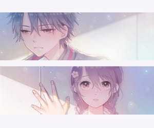 aishiteru, couple, and girl and boy image