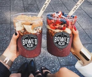acai, drink, and healthy image