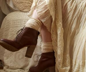 boot, celtic, and dress image