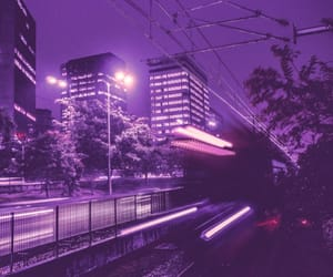 purple, aesthetic, and city image