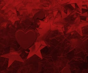 heart, scarlet, and red image