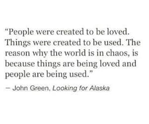 quotes, john green, and chaos image