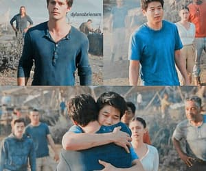 thomas, maze runner, and friends image