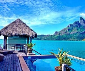 bora bora and islanders image