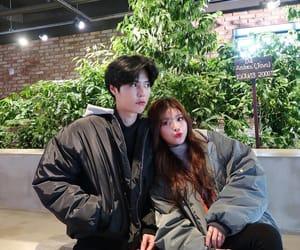 couple, ulzzang, and korean couple image