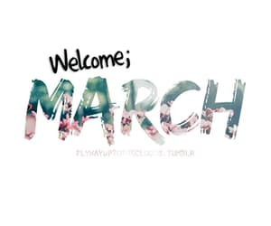 march, welcome, and gif image