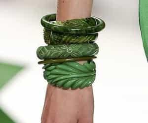 bracelets, catwalk, and fashion image