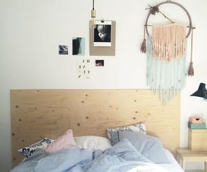bedroom, Chambre, and decor image