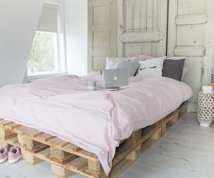 bedroom, interior, and pallet image