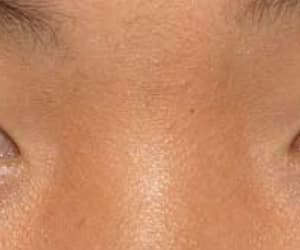 asian, blue eye, and brown eye image
