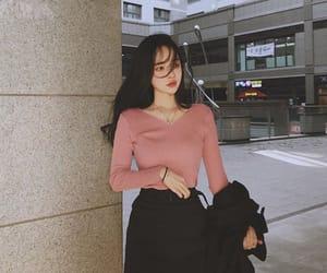 asian, cute girl, and ulzzang image