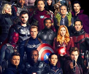 Marvel, Avengers, and black panther image
