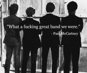 mccartney, the beatles, and paul image
