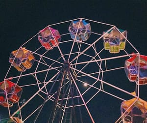 aesthetic, fairground, and old image
