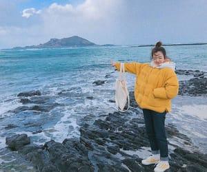 casual, kfashion, and korean girl image