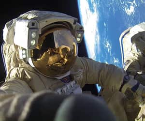 astronauts, cosmos, and space image