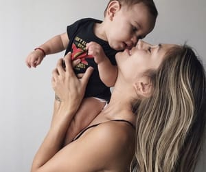 baby, blond, and child image