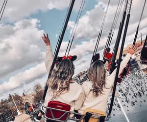 girl, disney, and friends image