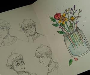 art, sketchbook, and cute image
