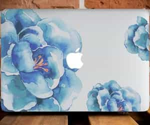 apple, blue, and fashion image